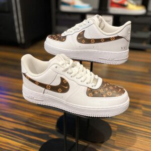 Nike Air Force 1 Low Monogram Custom mit Initialen