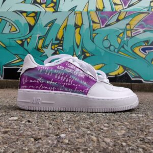Nike Air Force 1 Low Chris Brown Custom
