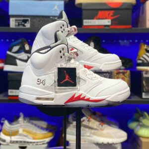 Air Jordan 5 Retro Supreme White