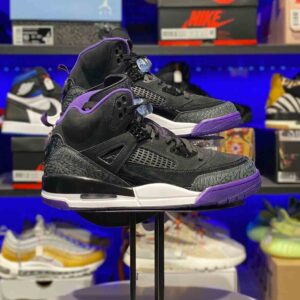 Air Jordan Spizike Black Court Purple