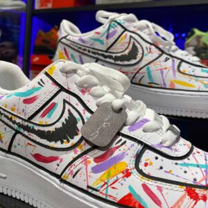 Nike Air Force 1 Low Comic/Splatter Custom