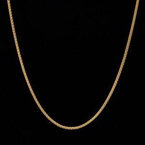 2,5 mm 14K Gold Franco Chain