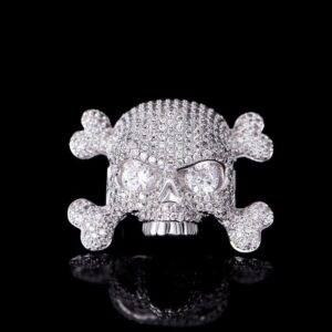 Iced Out Skull Lace Lock