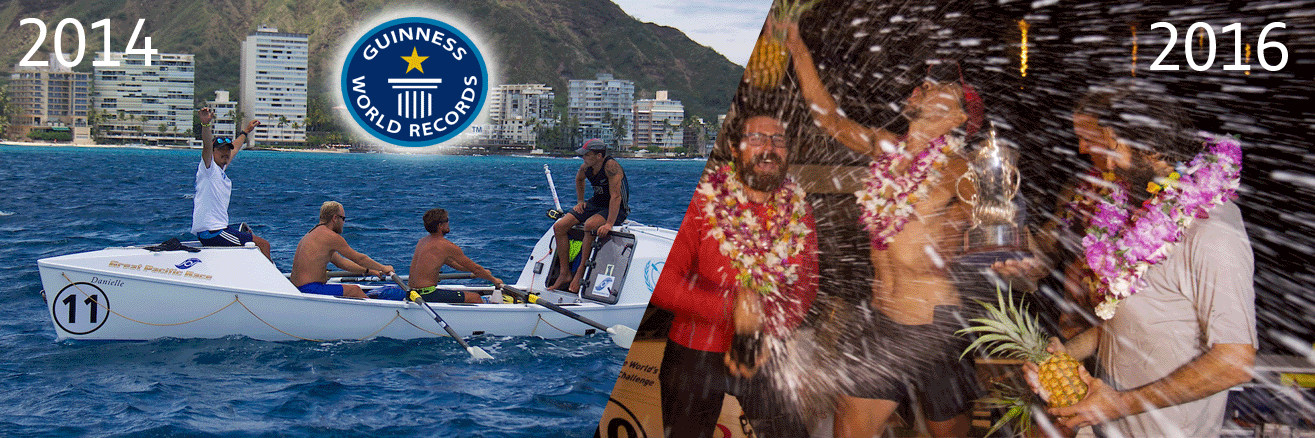 Team Uniting Nations win the Great Pacific Race...again