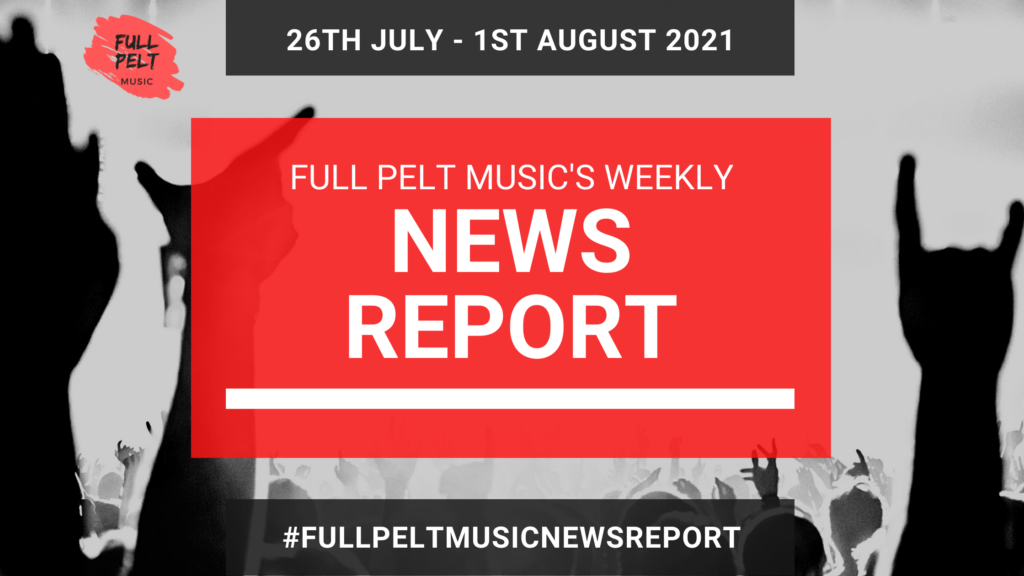 Full Pelt Music Weekly News Report