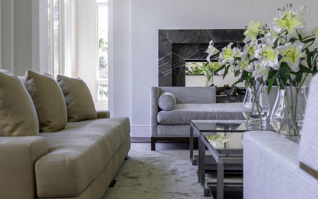 Au Courant Living Room Furniture Details