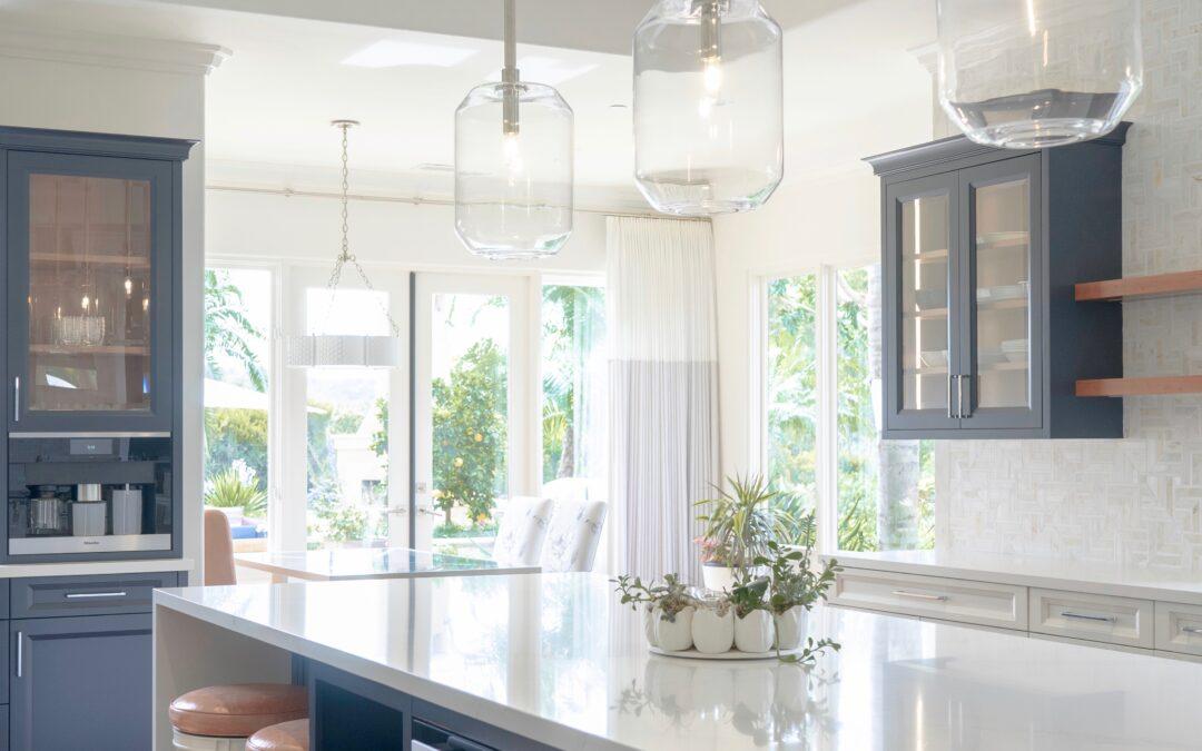 Blue + White Kitchen