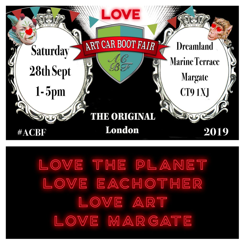 Love Margate_Art Car Boot Fair_Margate NOW festival 2019