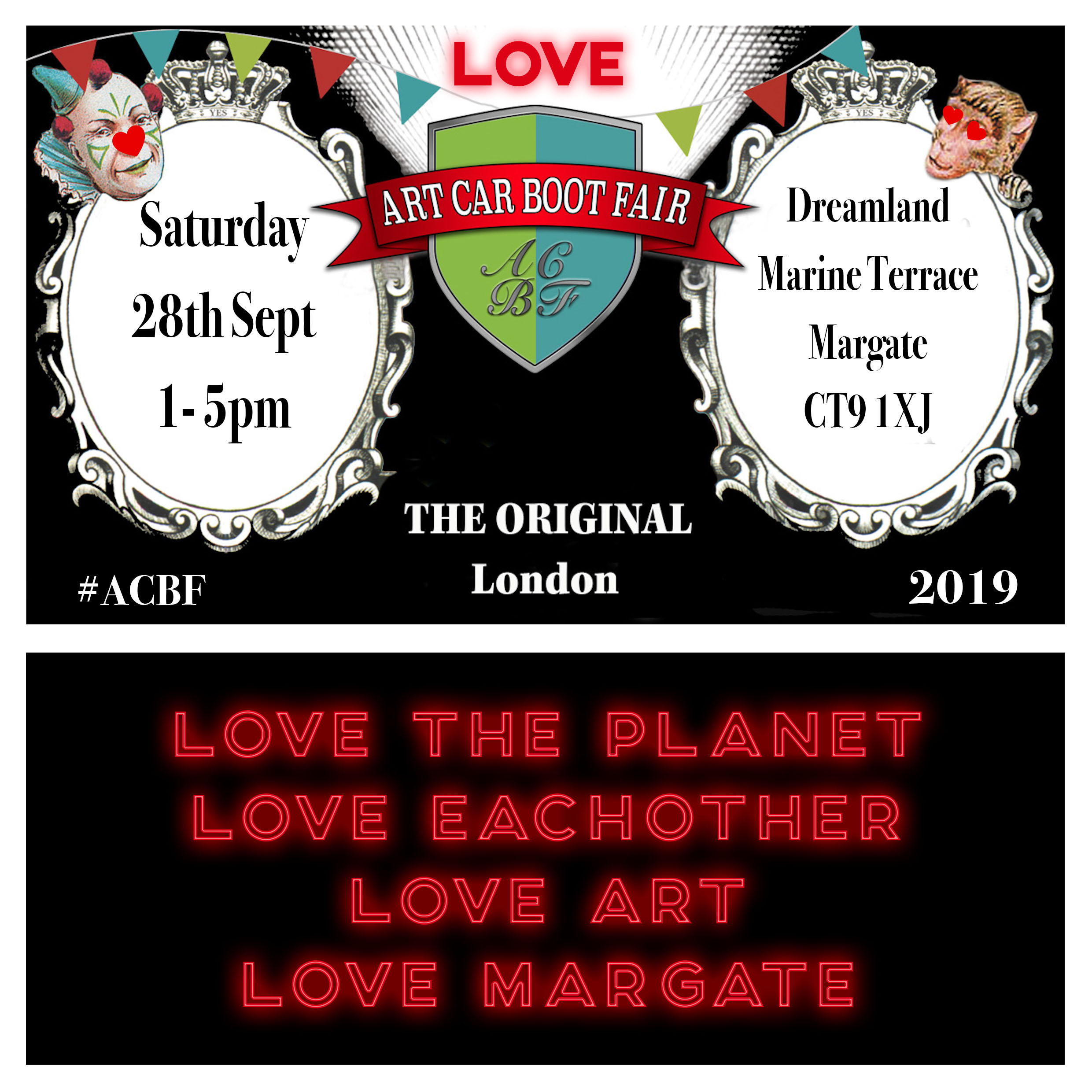 Love Margate_Art Car Boot Fair_Margate NOW festival 2019