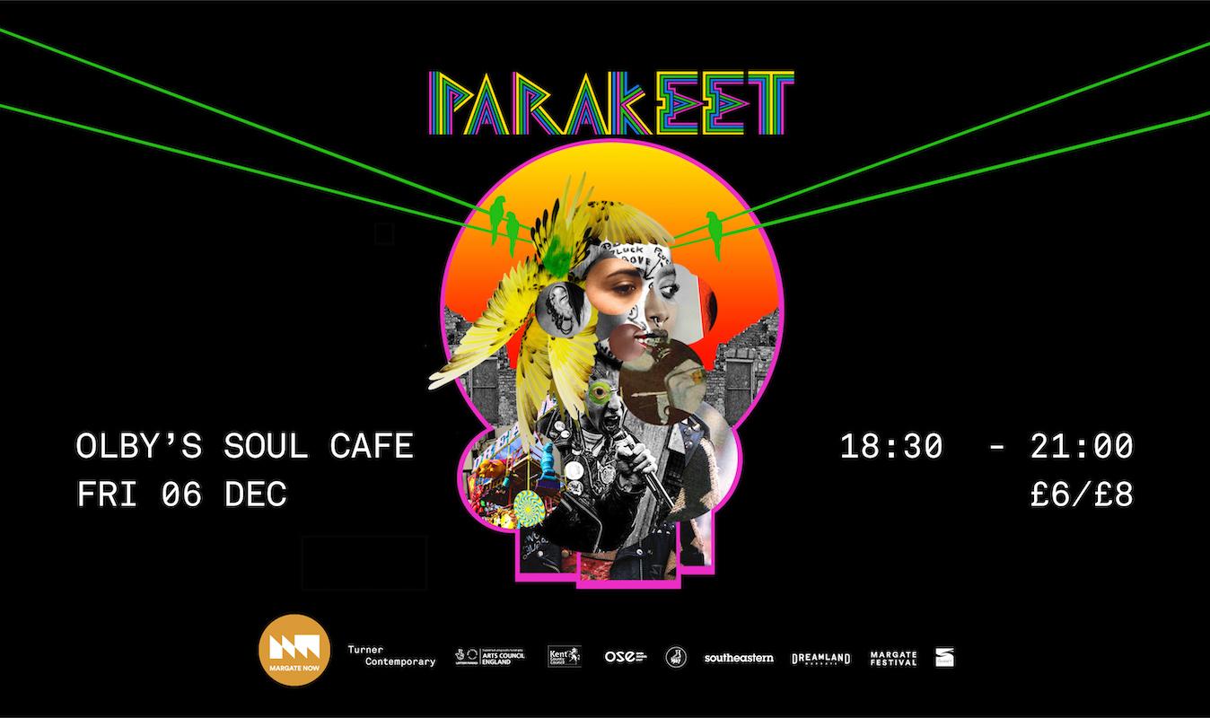 Dreamland Margate presents Parakeet for NOWland Margate NOW festival 2019