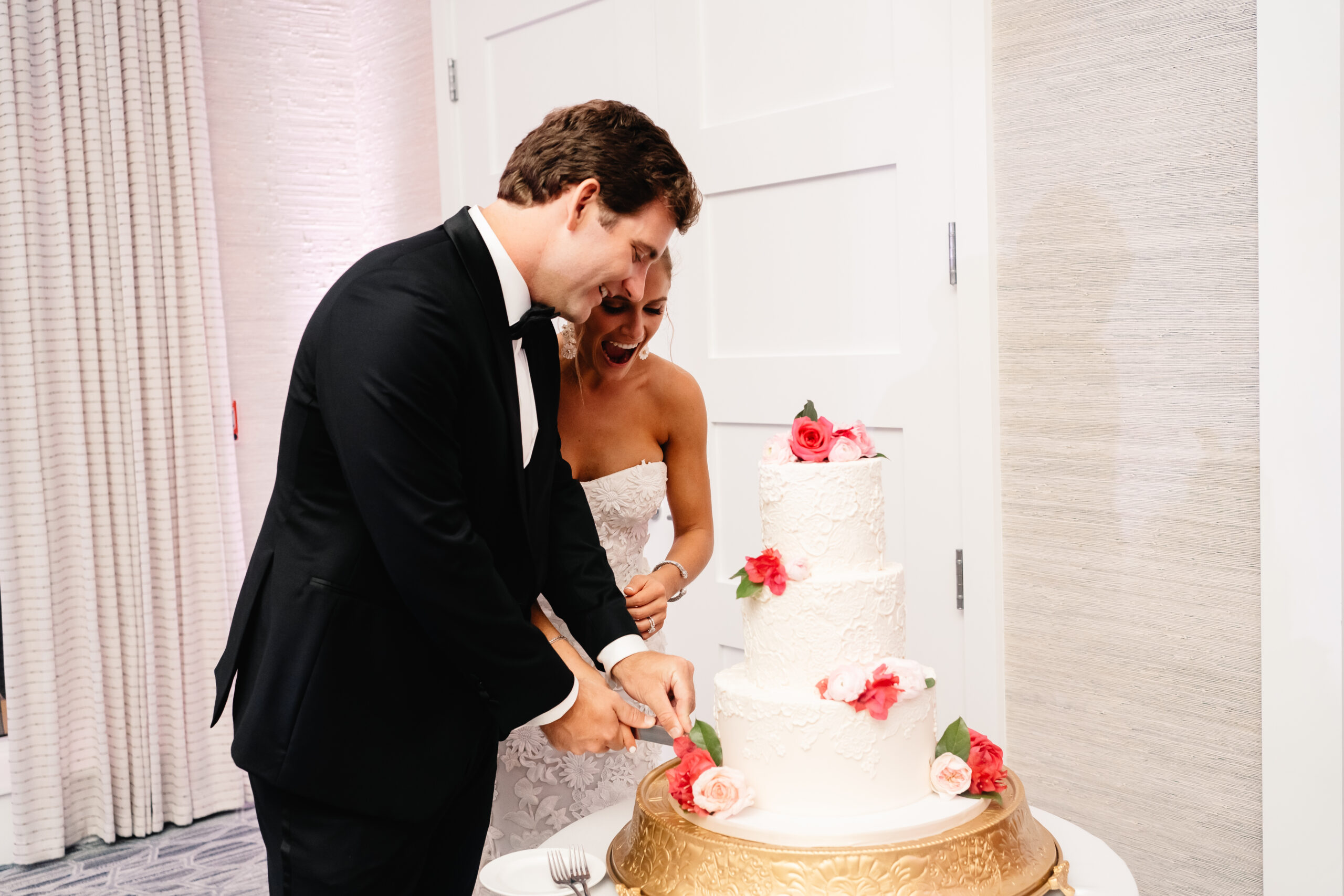 Bride and Groom Anna Hess Wedding Planner