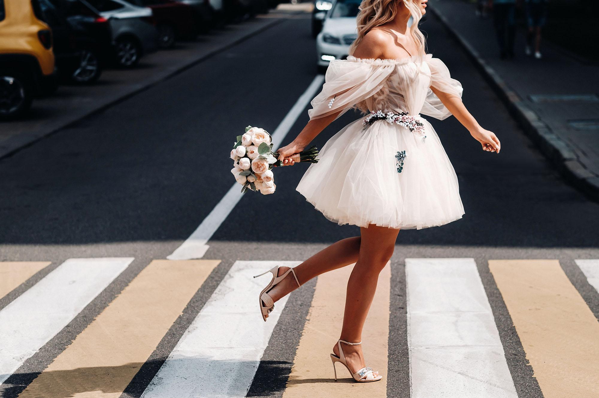 fashion trendy bride