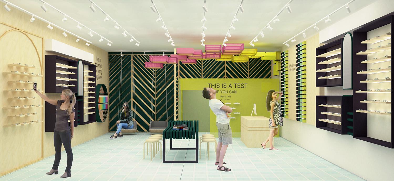 עיצוב חנויות אופטיקה בעידן הדיגיטלי