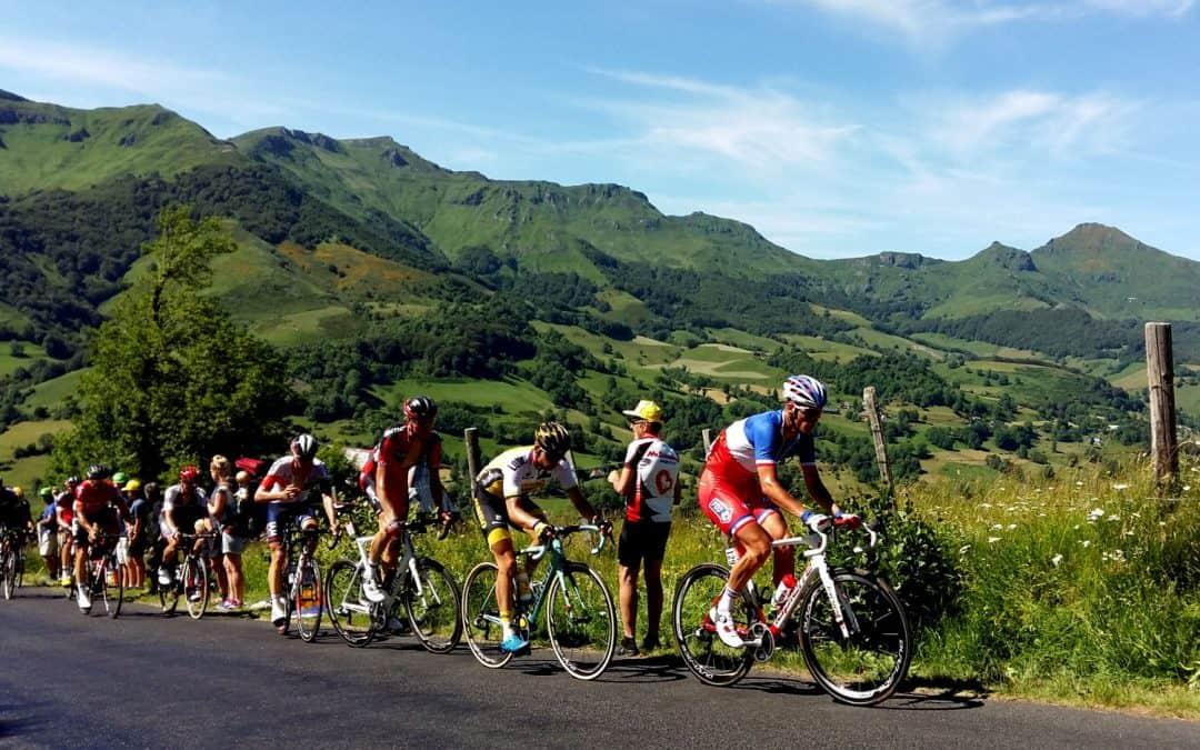 Tour de France at Col de Perthus 2016 with Correze Cycling Holidays