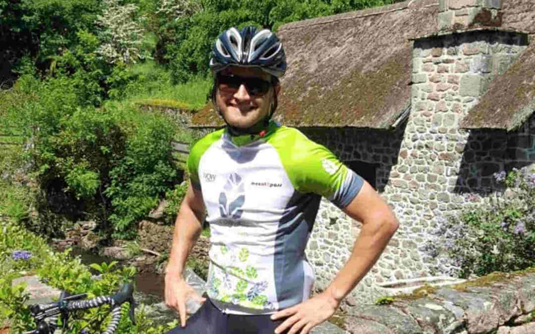 Cycling in Correze France