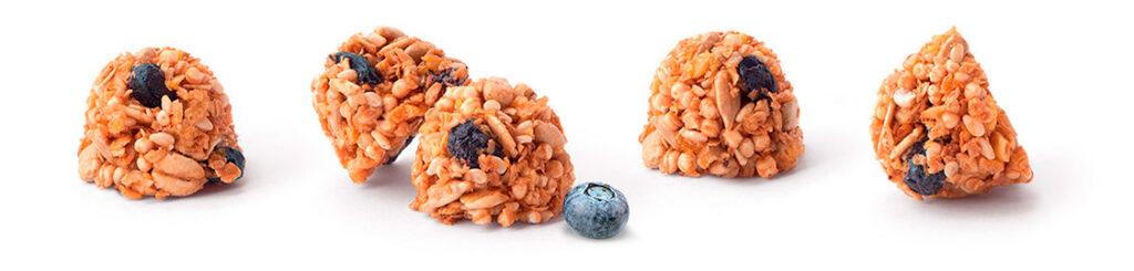 Merba Granola Bites Blueberry