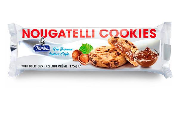 Merba Nougatelli Cookies