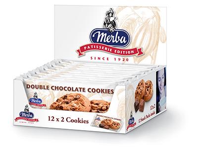 Merba Patisserie Multi Wrap Double Chocolate Cookies