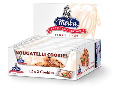 Merba Patisserie Nougatelli Cookies Multiwrap