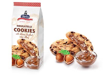 Merba Patisserie Nougatelli Cookies