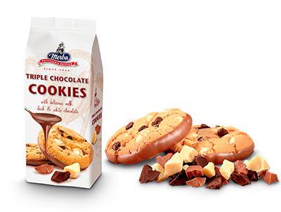 Merba Patisserie Triple Chocolate Cookies