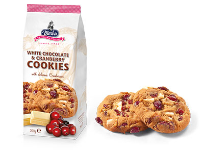 Merba Patisserie White Chocolate Cranberry Cookies