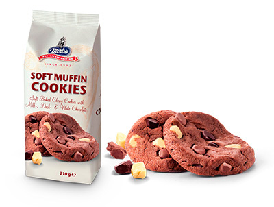 Patisserie Soft Triple Chocolate Cookies