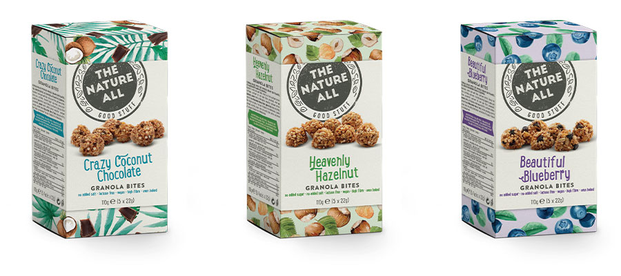 The Nature All Granola Bites
