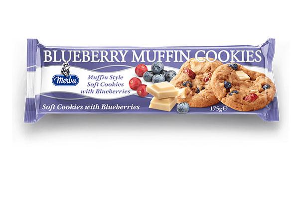 Merba Soft White Chocolate Blueberry Cookies