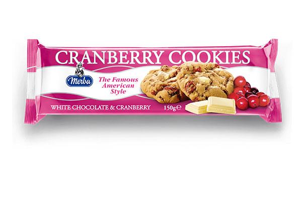 Merba White Chocolate Cranberry Cookies