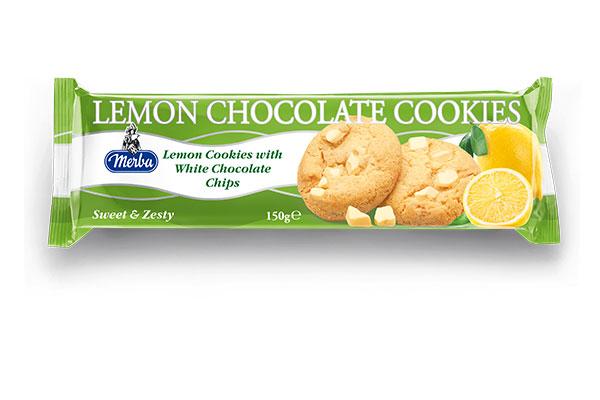 Merba White Chocolate Lemon Cookies