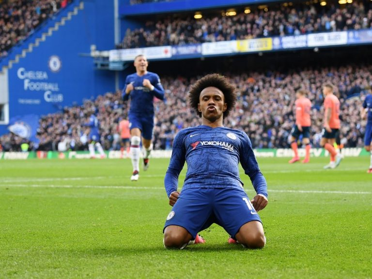 AllEPL - football news - Willian extends his Chelsea stay until end of season