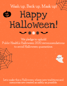 Johnson County Halloween Flyer PNG