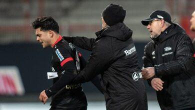 أميري لاعب ليفركوزن يقبل الاعتذار عن الإساءة العنصرية