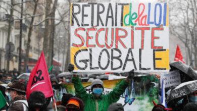 مظاهرات في عشرات المدن الفرنسية احتجاجاً على قانون (الأمن الشامل)