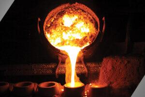 Cast Metal Pouring