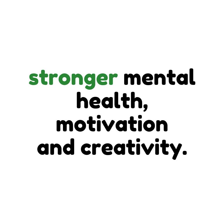 stronger mental health