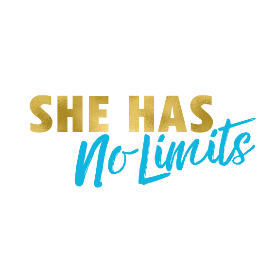 she has no limits logo