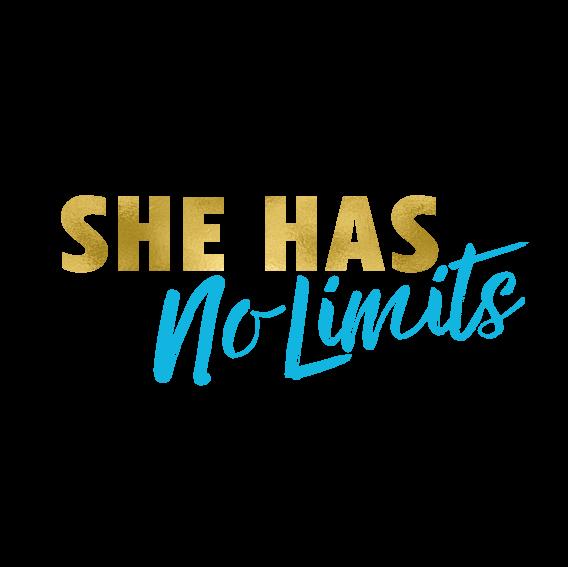 she has no limits logo