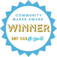 COMMUNITY MAKER WINNER, She has no limits