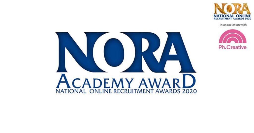 NORA award finalist logo 2020