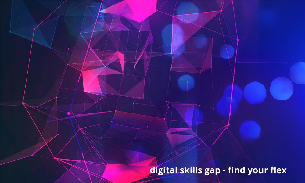 digital skills gap, photo of digital connections