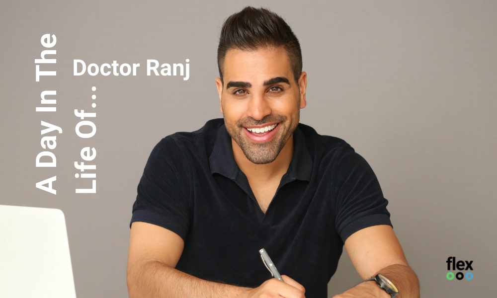 A day in the life of Doctor Ranj and photo of Dr Ranj