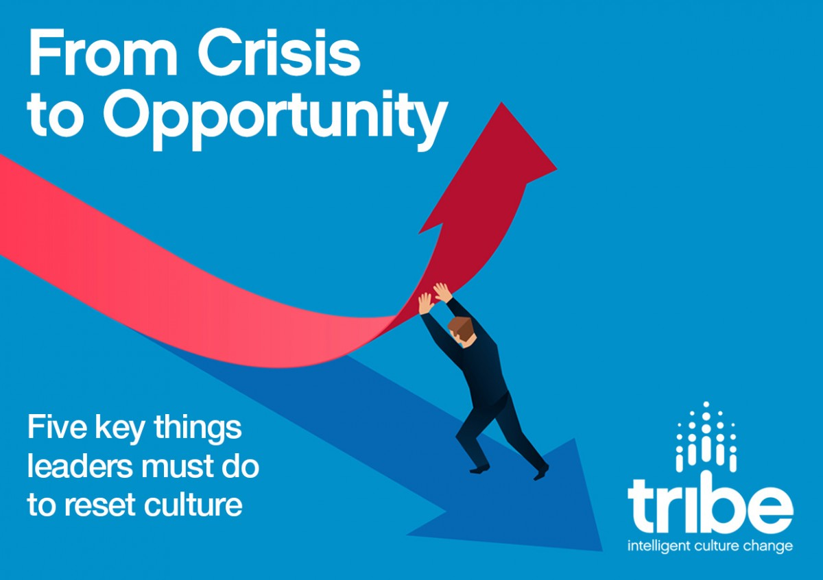 From Crisis to Opportunity…