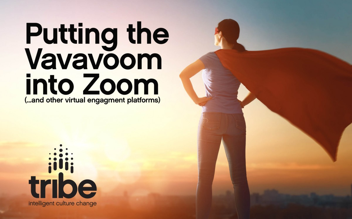 Part 1: Putting the Vavavoom into Zoom… and other virtual engagement platforms.