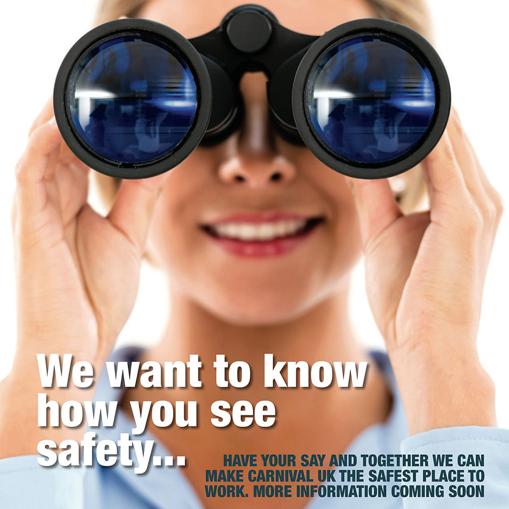 we want to know how you see safety - carnival cruises