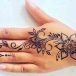Beautiful easy mehndi design for beginners