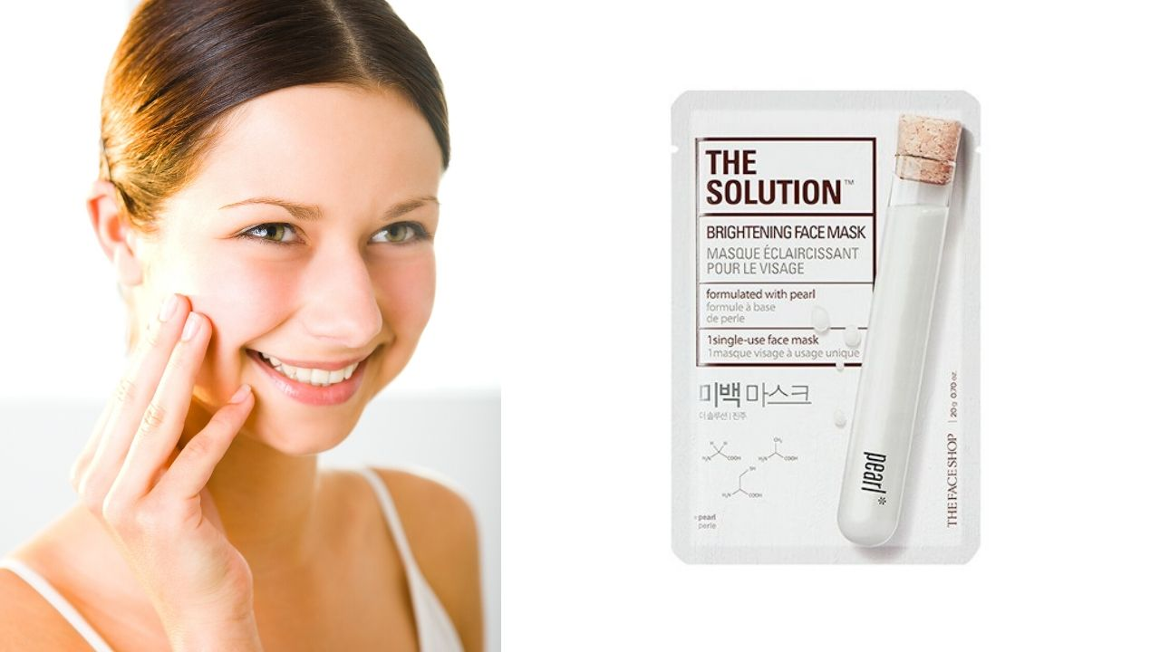 The Face Shop The Solution Brightening Face Mask Product Review