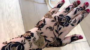 New Dubai Style Mehndi Design Tutorial