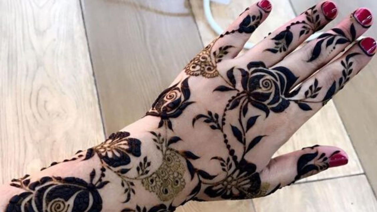 New Dubai Style Mehndi Design Tutorial